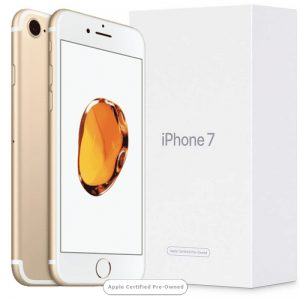 Apple iPhone 7 256GB Gold (Apple Certified Pre-Owned)