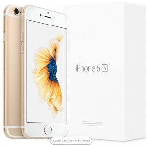 Apple iPhone 6S 128GB Gold (Apple Certified Pre-Owned)