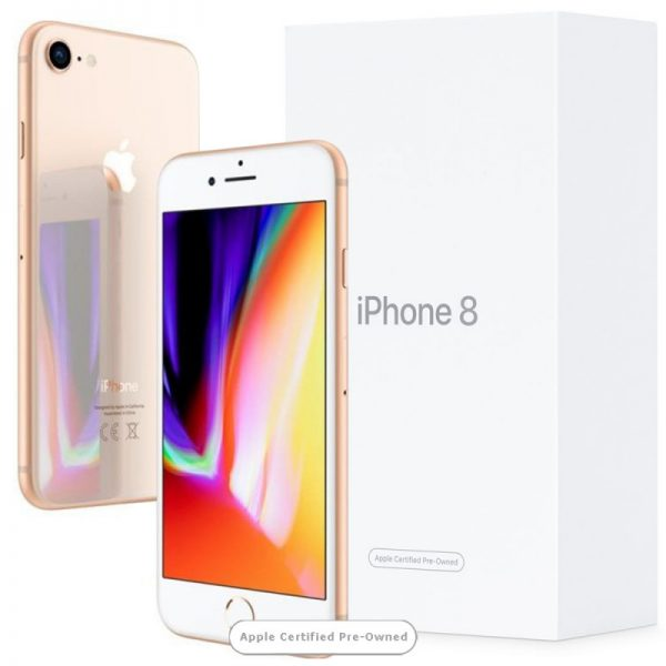 Apple iPhone 8 64GB Gold (Apple Certified Pre-Owned)